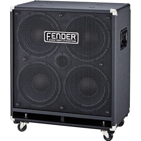 Fender Rumble 410 Cabinet by Fender Rumble 410 171 Bass Cabinet