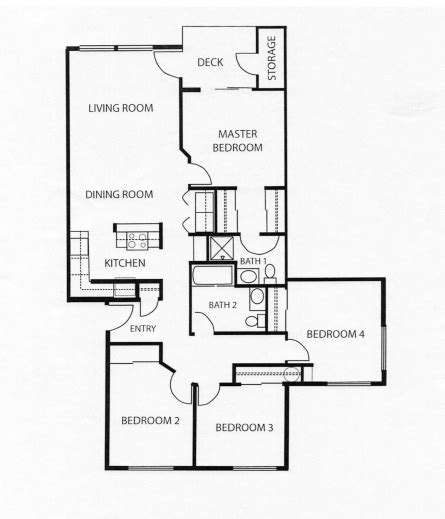 four bedroom flat floor plan marvelous 4 bedroom apartment floor plans our four bedroom