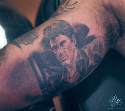 scarface tattoo david morris illustration and design journal