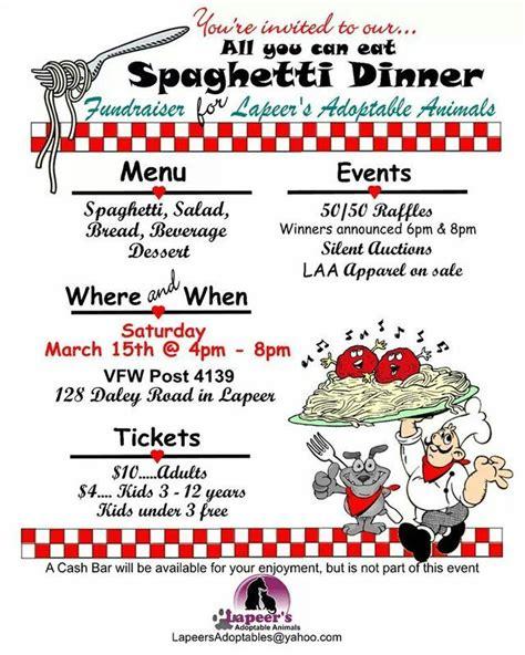 07e92576cd98e1114d9c4724cd39b0b0 Jpg 640 215 800 Pixels Cub Scouts Pinterest Fundraisers Spaghetti Dinner Fundraiser Flyer Template