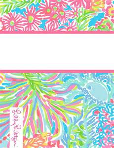 lilly pulitzer binder cover templates top lilly pulitzer binder cover templates images for