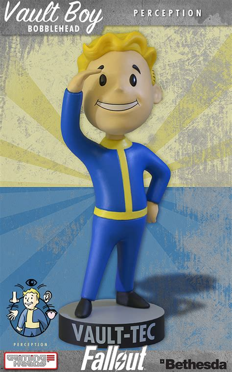 bobblehead effect gaming heads fallout 3 vault boy bobbleheads series