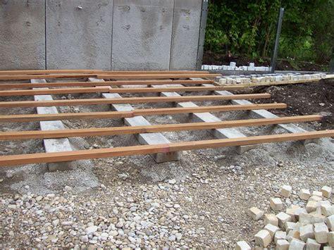 unterkonstruktion terrasse holz xd89 hitoiro - Holz überdachung Terrasse