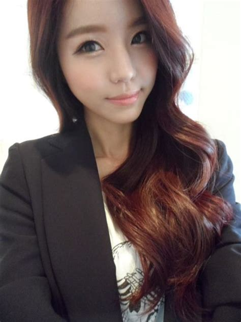 cute hair color for asian 17 best images about ulzzang on pinterest ulzzang makeup