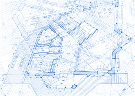 create a blueprint free creative architecture blueprint design vector 01 free