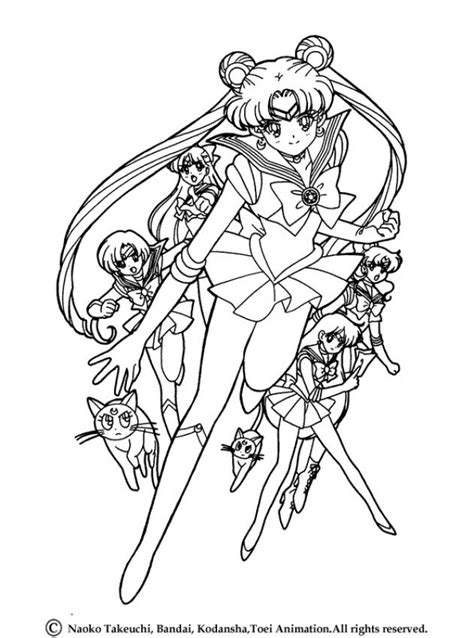 sailor moon coloring pages sailor saturn in her original