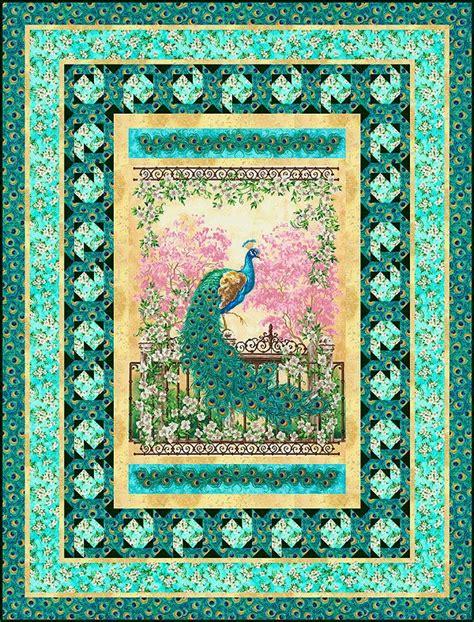 quilt pattern peacock jewel of the garden peacock quilt peacocks pinterest