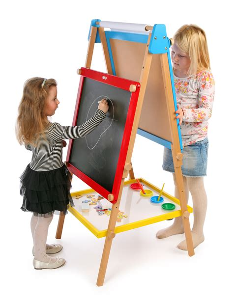 childrens easel height adjustable magnetic easel tildo easel t 0210