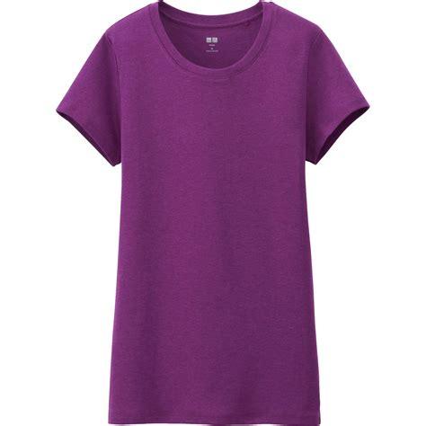 Uniqlo Sweatshirt Vintage Sweater 1 uniqlo supima cotton modal crew neck sleeve t in purple lyst
