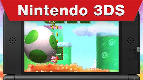 Kaset 3ds Yoshi S New Island nintendo 3ds yoshi s new island it s a shell of a time trailer