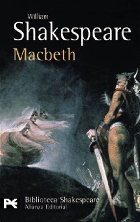 libro macbeth y ahora un libro de william shakespeare
