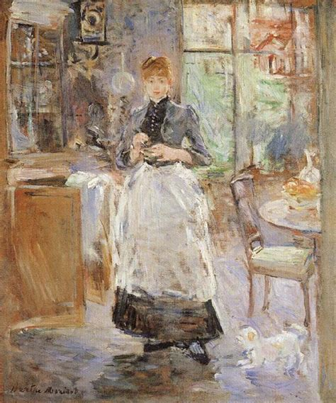 berthe morisot in the dining room berthe morisot museum in the dining room berthe morisot