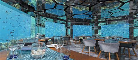 maldives ithaa underwater restaurant overwater villa underwater restaurants in maldives lalumi travels