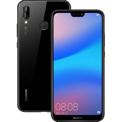 huawei nova 3e 64 gb midnight black mobile online at jarir