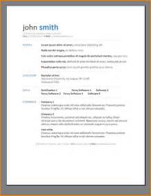 resume template 85 terrific modern free for word