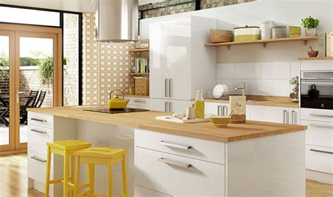 Kitchen Island Worktops Uk by Glencoe Contemporary Kitchen Range Wickes Co Uk