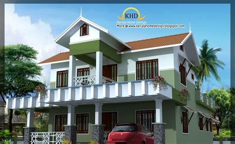 kerala home design 1800 sq ft beautiful villa elevation 1800 sq ft kerala home