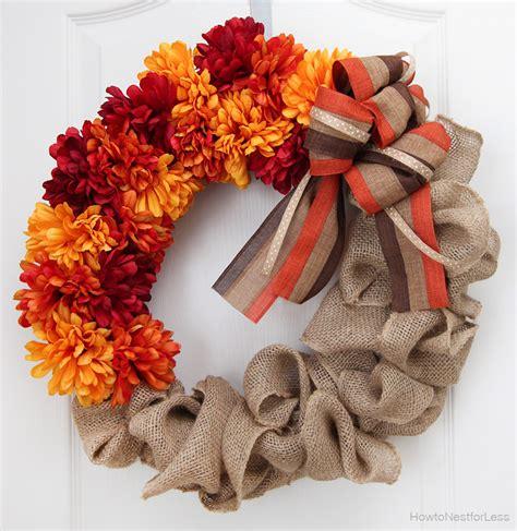 diy fall wreaths   front door huffpost