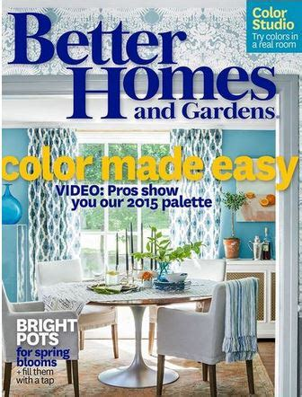 Better Homes Gardens Magazine by Better Homes And Gardens Magazine 1 Year 4 99 Totallytarget