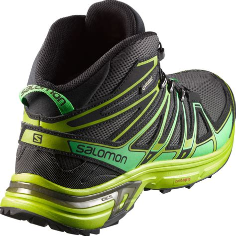 mid trail running shoes salomon x mid tex trail running shoes aw16