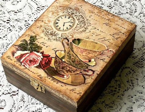 decoupage jewellery 17 best ideas about decoupage box on farewell