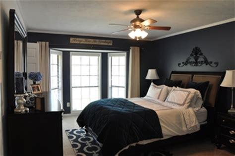 navy blue master bedroom making memories of us new house