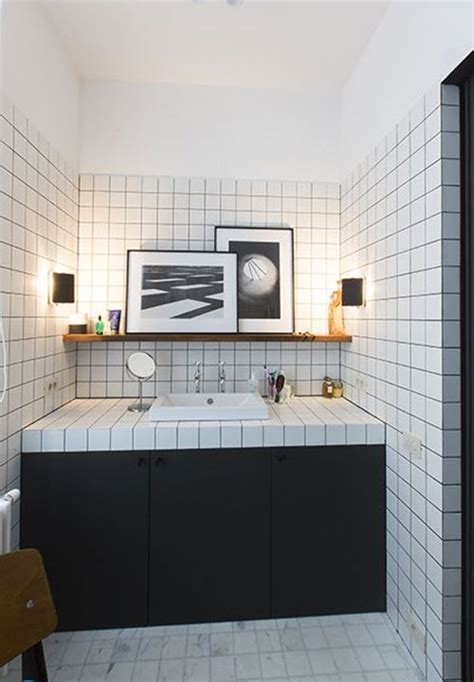 black and white bathroom wall tiles 30 black and white bathroom wall tile designs ideas and