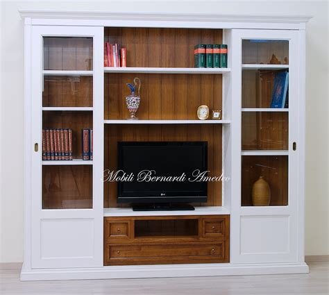 librerie con ante scorrevoli librerie in legno 9 librerie