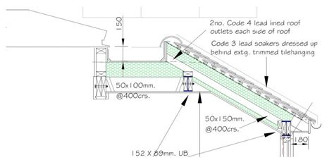 pitched roof section whole host of pitched to flat roof questions diynot forums
