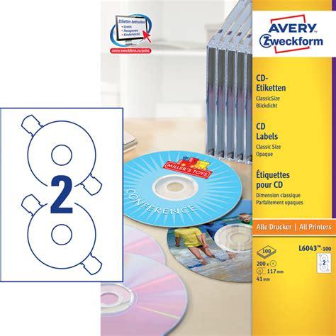 Dvd Aufkleber Kaufen by Avery Zweckform Cd Etiketten G 252 Nstig Kaufen Papersmart