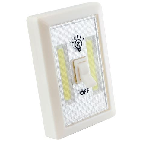 battery powered led light switch 2w cob led light switch super bright portable night l