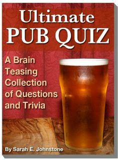 14 best images about pub quiz on pinterest game of ultimate pub quiz a brain teasing collection of trivia