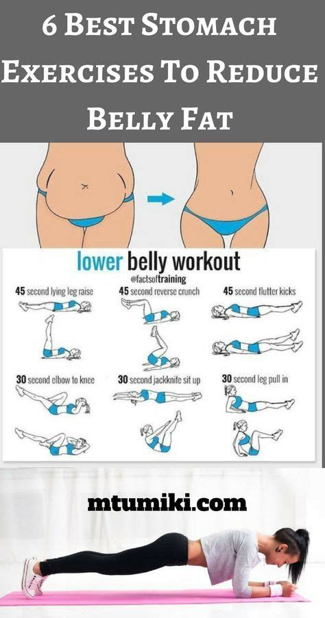 6 best stomach exercises to reduce belly and