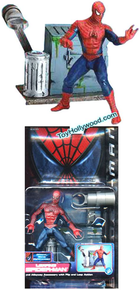 Custom Spiderman1 leaping spider figure spider 1 series 2