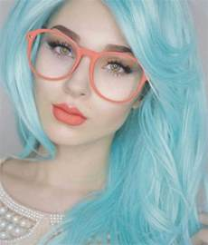 light blue hair color best 25 light blue hair ideas on light blue
