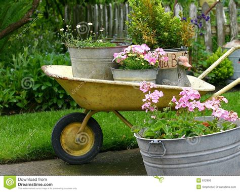 Free Garden Planters by Gardening Pots Royalty Free Stock Image Image 812806