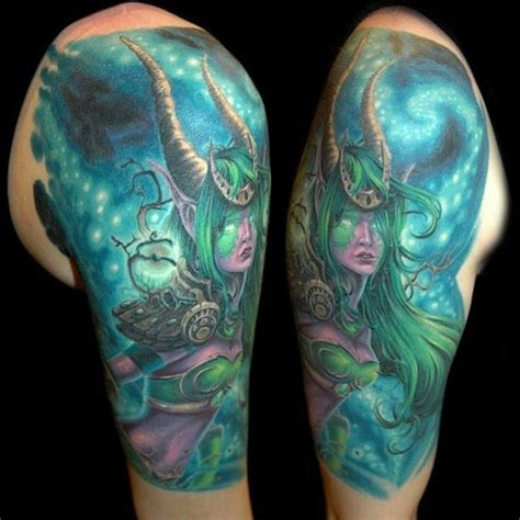 world of warcraft tattoo this is a world of warcraft no tattoos