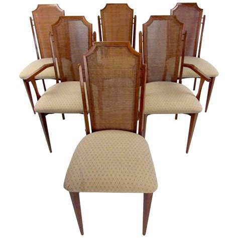 century dining room furniture six mid century dining room chairs for sale at 1stdibs