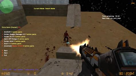 mod game zombie cs 1 6 zombie mod with bots download install english pack