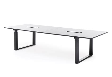 Adjustable Height Conference Table Frankie Height Adjustable Conference Table By Martela Stylepark