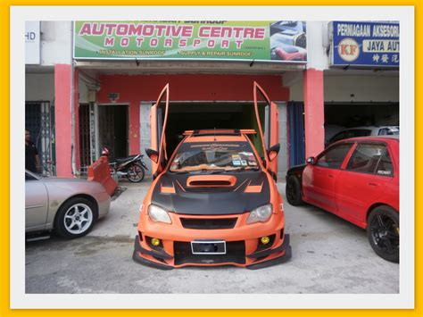 Cermin Kereta Gen2 bengkel sunroof sunroof 2 vertical door