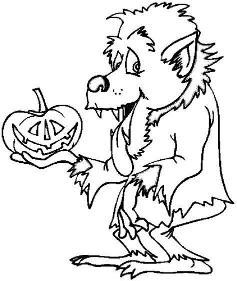 werewolf coloring pages online free coloring pages of werewolf color pages