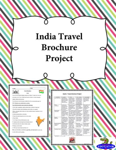 brochure template ks3 ancient rome travel brochure history project by
