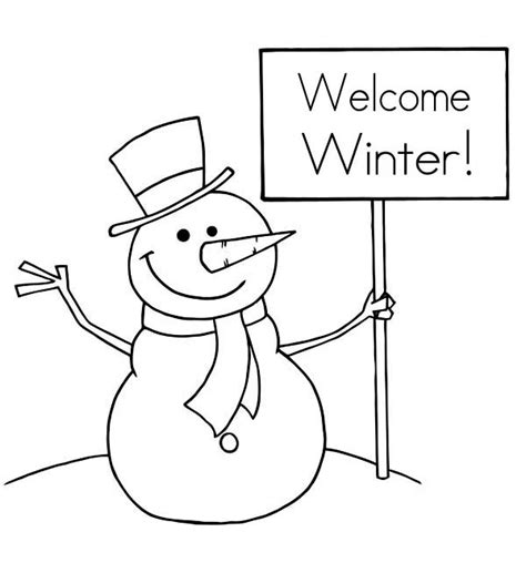 snowman coloring pages for preschool snowman coloring pages 360coloringpages