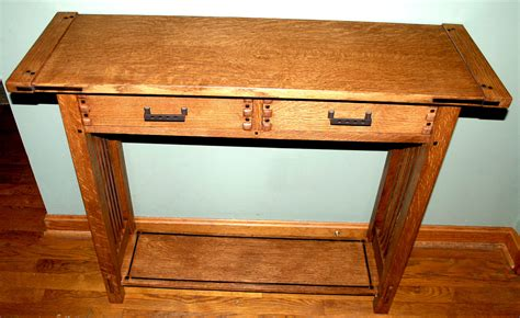 Greene Greene Arts And Crafts Sofa Table Finewoodworking Arts And Crafts Sofa Table