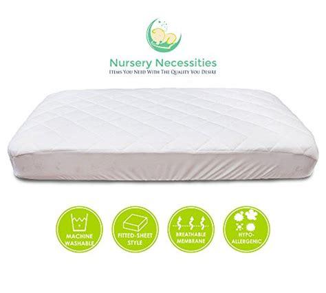 Crib Mattress Topper Soft 1 Best Crib Mattress Pad Waterproof Silky Soft Hypoallergenic Breathable Helps Regulate