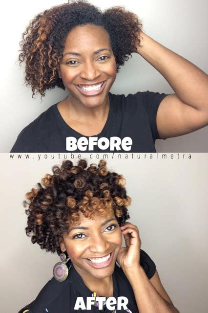short perm rod styles on thin hair perm rod greatness for short natural hair curly nikki
