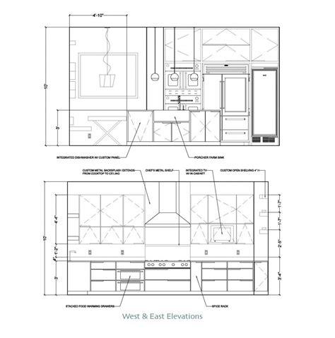 elevation plan for kitchen dwg bedroom elevations interior design plan duoilngo