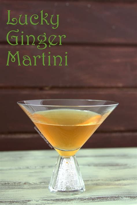 martini ginger lucky ginger martini goodie godmother a recipe and