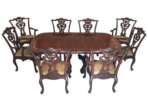 henredon dining room set chairish henredon natchez dining set chairish
